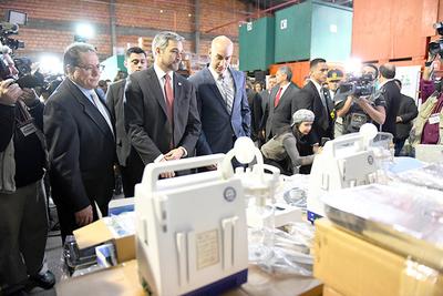 Unidades de salud recibirán equipamientos por valor de USD 986.000