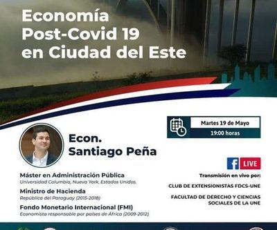 Alistan conferencia virtual «Economía Post-Covid 19 en Ciudad del Este»