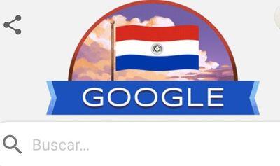Google homenajea a Paraguay por sus 209 años de independencia