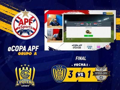 Emocionantes partidos en el inicio de la eCopa APF