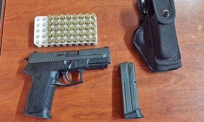 Incautan una pistola 9 mm y  municiones de un hombre – Diario TNPRESS