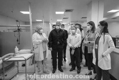 Se inauguró un bloque de terapia intensiva en el Hospital Regional y la sede del Instituto de Previsión Social en Pedro Juan Caballero