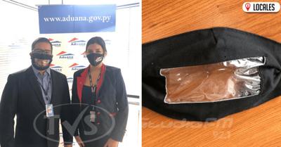 Fomentando la inclusión: En la Aduana optan por tapabocas transparentes