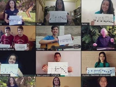 Con emotivo video, Sonidos de la Tierra celebra 209 años de independencia