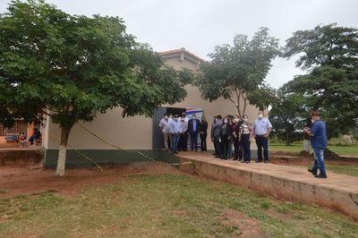 Inauguraron salas para internados en el hospital de Horqueta