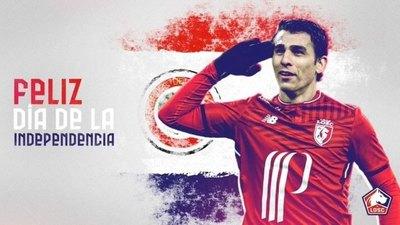 Las felicitaciones a Paraguay del Lille de Francia y Tottenham de Inglaterra