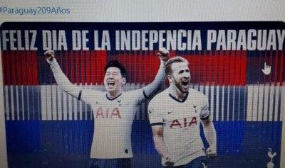 Clubes de Europa felicitan a Paraguay por fechas patrias