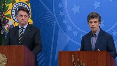 Renuncia ministro de Salud de Brasil, el segundo durante la pandemia