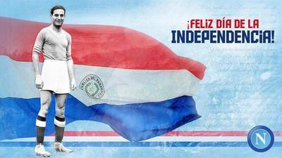 Nápoli saluda al Paraguay y recuerda a Attila Sallustro