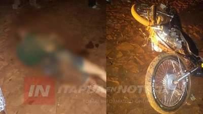 JOVEN MOTOCICLISTA GRAVE TRAS ACCIDENTE EN CARLOS A. LÓPEZ