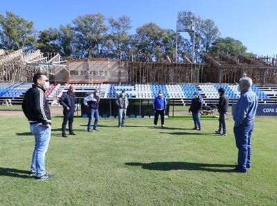 El estadio Parque del Guairá también fue inspeccionado