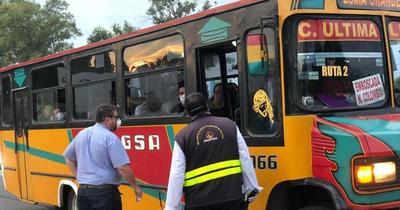 Desde el lunes Dinatran restablece todos los servicios de transporte de pasajeros