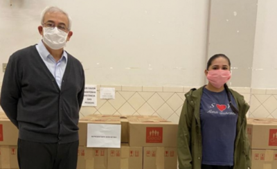 HOY / Distribuyen canastas básicas a familias paraguayas en Sâo Paulo