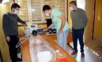 Avanzan en la  fabricación de un prototipo de respirador