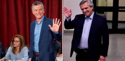 En Argentina triunfa Alberto Fernández