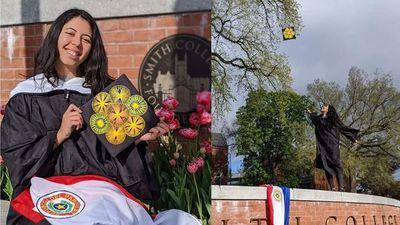 Misionera que de niña vendía jabón casero en bicicleta, se gradúa en el Smith College de los EE.UU