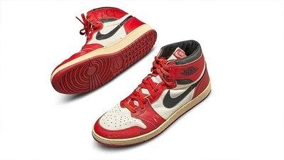 Los calzados Air Jordan desgastados se venden por un récord de US$ 560.000