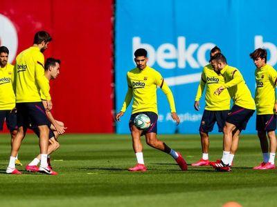 El Barça recupera los entrenamientos en grupo
