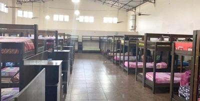 Afirman que el 70% de casos positivos de COVID-19 en Paraguay están bajo control en albergues