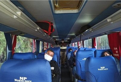 Medidas sanitarias para el servicio de transporte · Radio Monumental 1080 AM