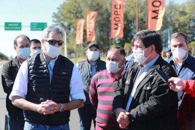 """Mario Abdo: """"Sin los albergues, Paraguay hoy sería un caos sanitario"""""""