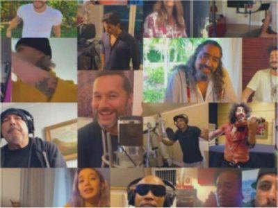 Más de 30 artistas lanzan versión de Color Esperanza