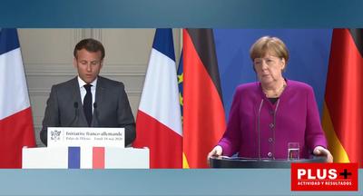 Macron y Merkel anuncian un plan de ayudas de € 500.000 millones para la reconstrucción de Europa