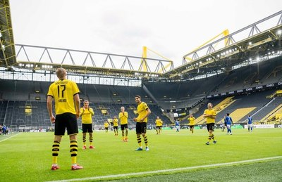 La Bundesliga selló su retorno con alto número de lesionados