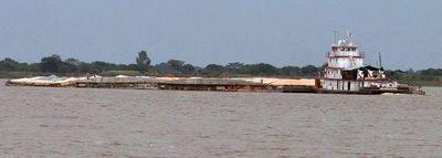 Reinicia la navegación en el Río Paraná