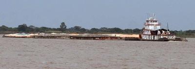 Desde hoy se reinicia la navegación por el Paraná