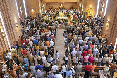 Se podrá asistir a misas a partir del lunes 25