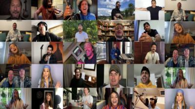 """Nueva versión de """"Color Esperanza"""" con más de 30 artistas"""