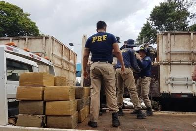Decomisó de droga en la FRONTERA con Paraguay aumento 52%