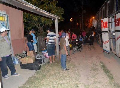 Luego de dos meses se reanuda  el servicio de bus en el Alto Paraguay