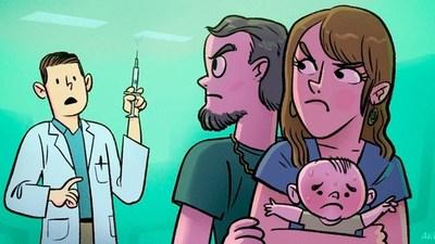 Antivacunas podrían socavar los esfuerzos para terminar con la pandemia, según investigadores