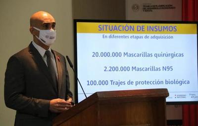 Confirman que algunos insumos médicos llegaron sin marca y fueron rotulados en Paraguay