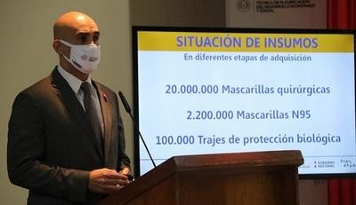 Insumos médicos no fueron rechazados en su totalidad, aclara Mazzoleni
