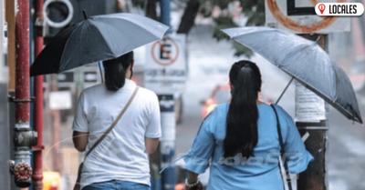 Pronostican jornada cálida, con lluvias y tormentas en todo el país