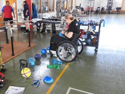 Personas con Discapacidad entrenan en clases virtuales de la SND