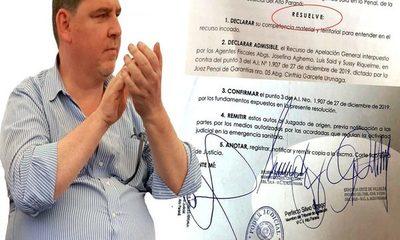 Justicia servil y cómplice confirma libertad  ambulatoria del corrupto senador Javier Zacarías – Diario TNPRESS