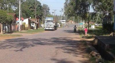 Reclaman reparación de acceso al casco urbano de Paraguarí