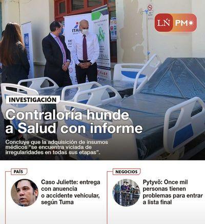 LN PM: Las noticias más importantes de la siesta