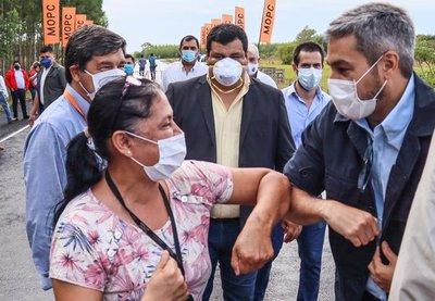 Abdo Benítez reiteró de manera tajante que la frontera con Brasil seguirá cerrada