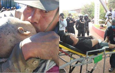 Hieren a policía de emblemática foto de Ycuá Bolaños