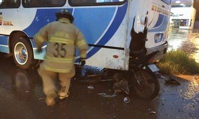 Brutal accidente en Minga Guazú