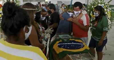 Coronavirus: Brasil ya supera los 20.000 muertos y 310.000 infectados