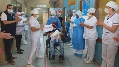 Suma otro paciente recuperado de Covid-19 en Repatriacion