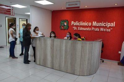 Policlínico Municipal atiende con normalidad en varias especialidades