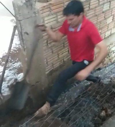Vecinos denuncian que policías  protegen a un violento sujeto – Diario TNPRESS