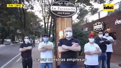 Locales gastronómicos anuncian reapertura pese a prohibición